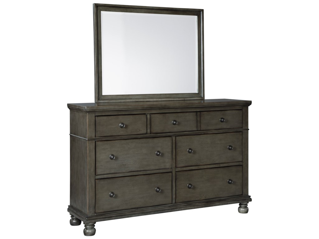 Benchcraft DevenstedDresser and Mirror Set