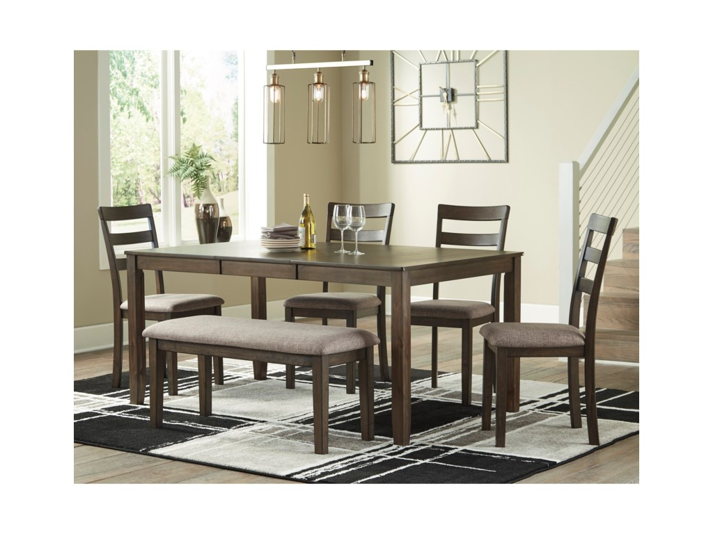Benchcraft DrewingDining Set with Bench