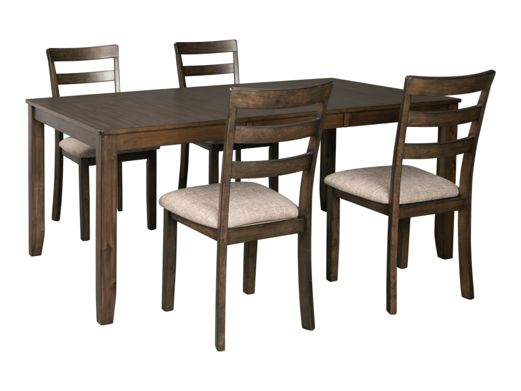 Benchcraft Drewing5-Piece Dining Table and Chair Set