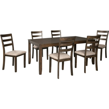 7-Piece Dining Table and Chair Set