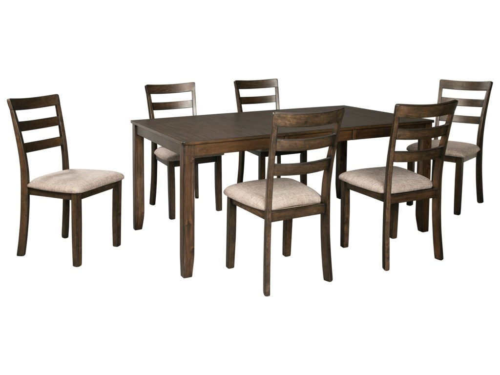 Benchcraft Drewing7-Piece Dining Table and Chair Set