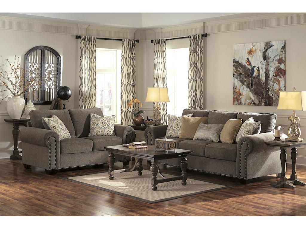 Benchcraft EmelenStationary Living Room Group