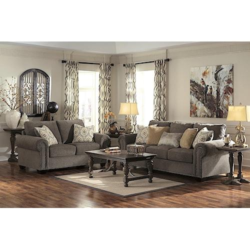 Benchcraft Emelen Stationary Living Room Group