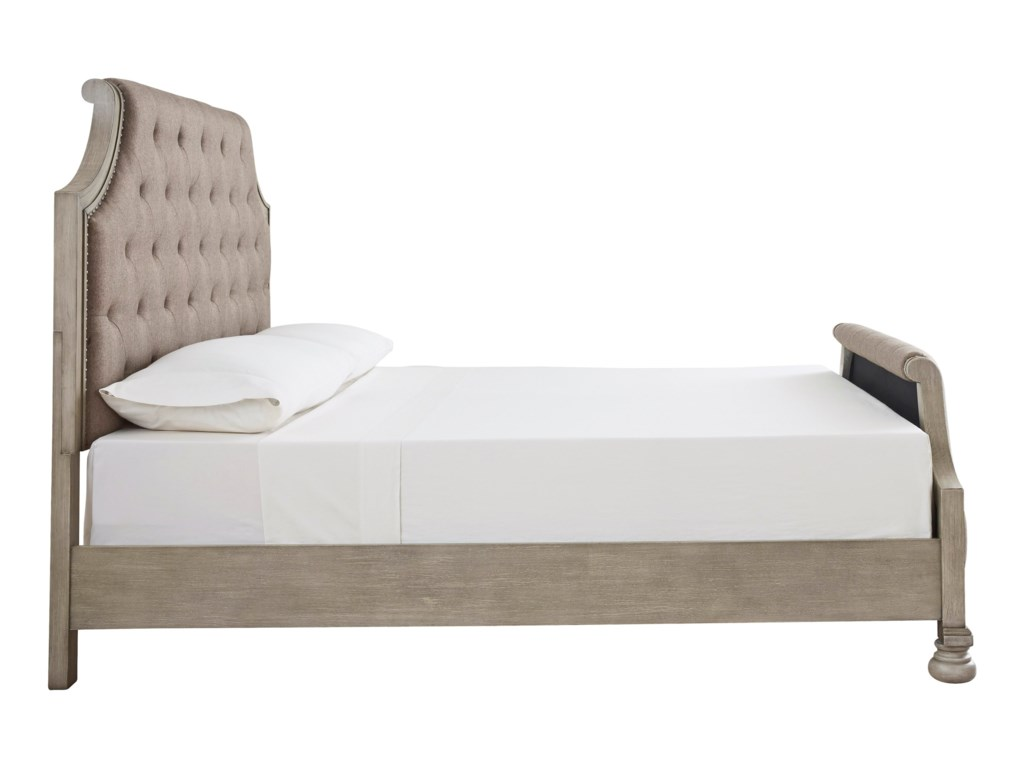 Signature Design By Ashley FalkhurstQueen Upholstered Panel Bed