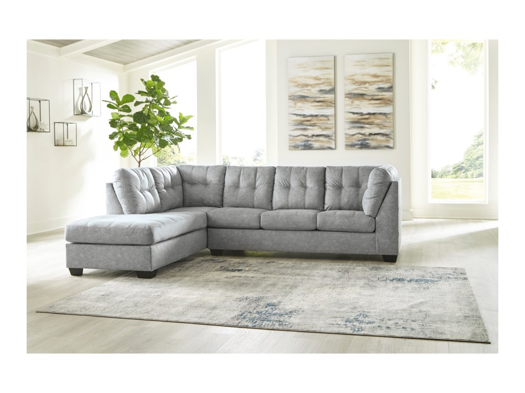 Benchcraft Falkirk2-Piece Sectional with Chaise