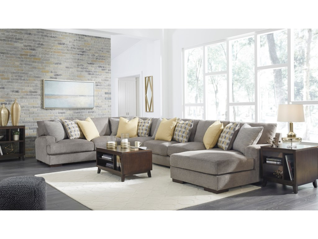 Benchcraft Fallsworth4 Piece Sectional