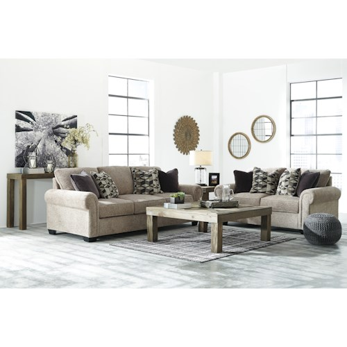 Benchcraft Fehmarn Stationary Living Room Group