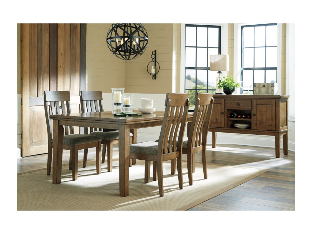 Benchcraft by Ashley FlaybernCasual Dining Room Group