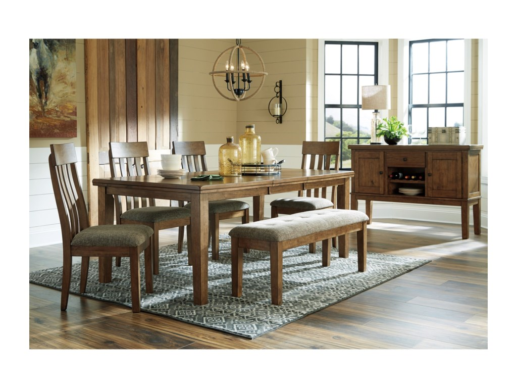 Signature Design By Ashley FlaybernCasual Dining Room Group