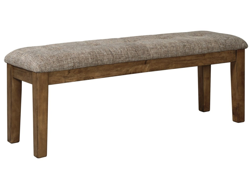 Benchcraft Flaybern D595 00 Large Upholstered Dining Room Bench