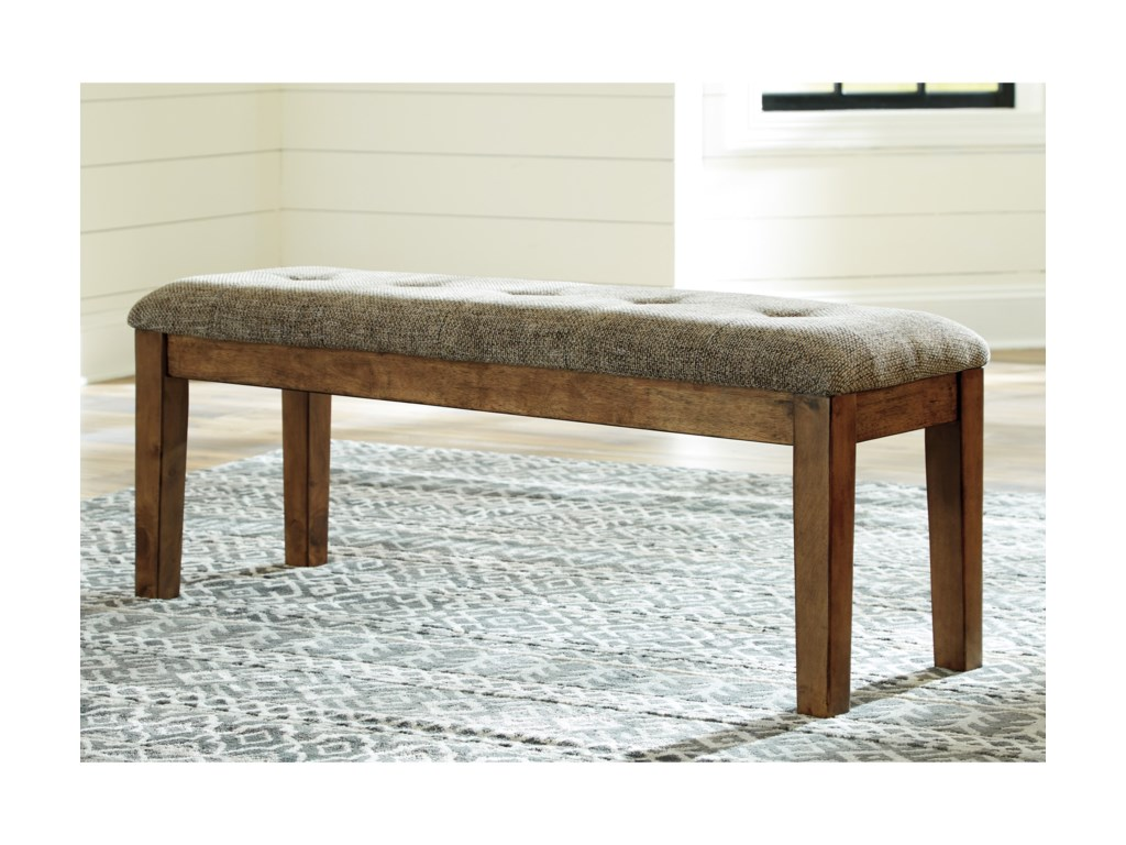Benchcraft FlaybernLarge Upholstered Dining Room Bench