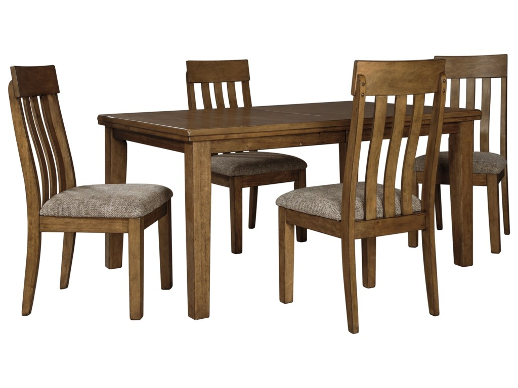 Benchcraft Flaybern5 Piece Table and Chair Set