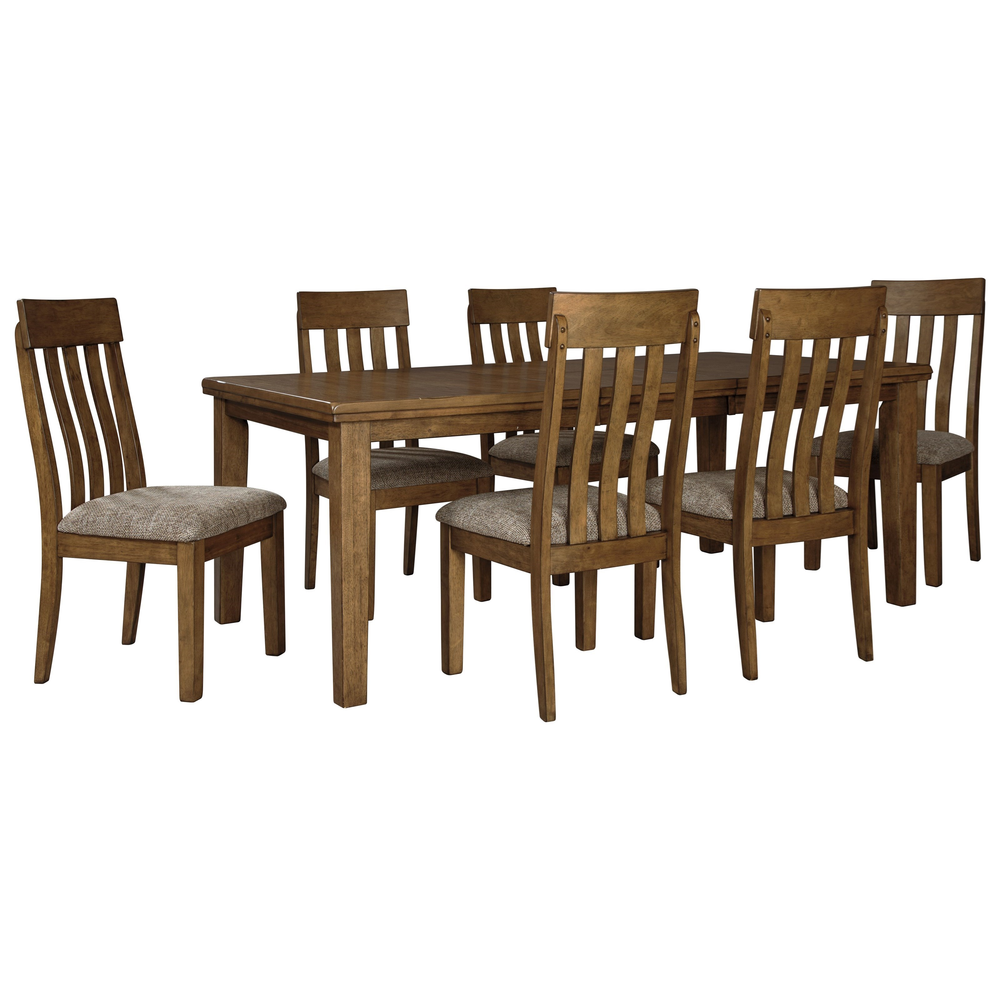 7-Piece Rectangular Table and Chair Set
