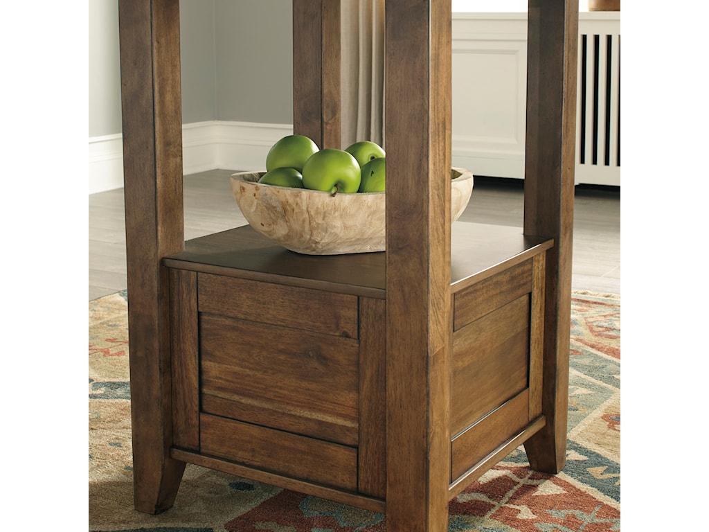 Benchcraft FlaybernRectangular Counter Table