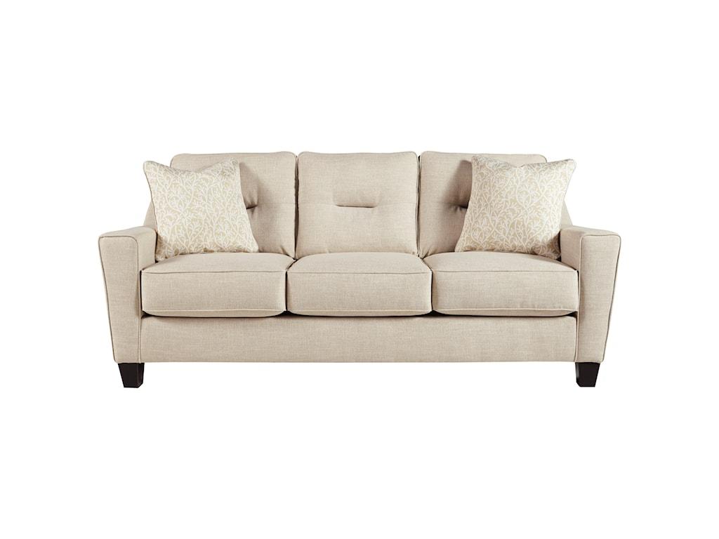 Benchcraft Forsan NuvellaQueen Sofa Sleeper