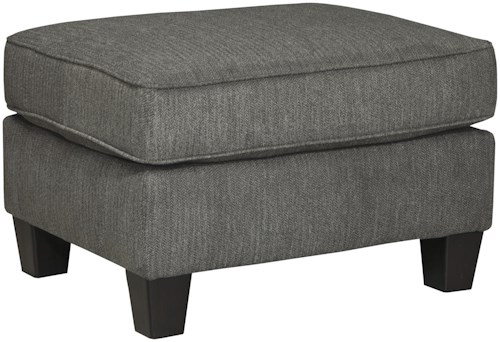 Benchcraft Gayler Rectangular Ottoman with Tapered Feet