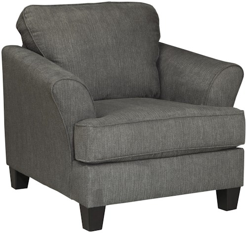 Benchcraft Gayler Contemporary Chair with Flared Arms