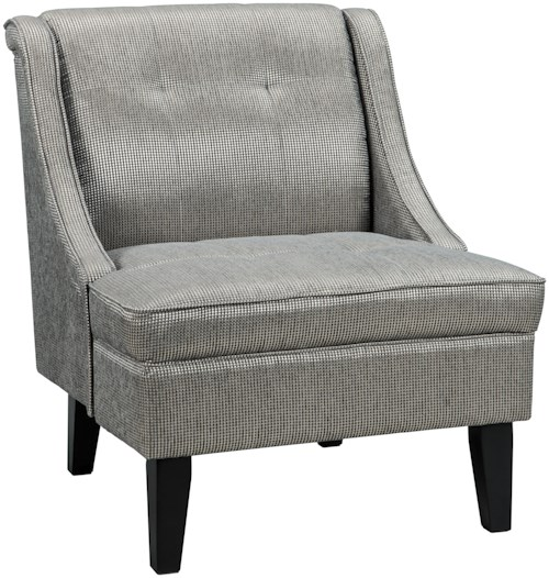Benchcraft Gilman Button Tufted Accent Chair
