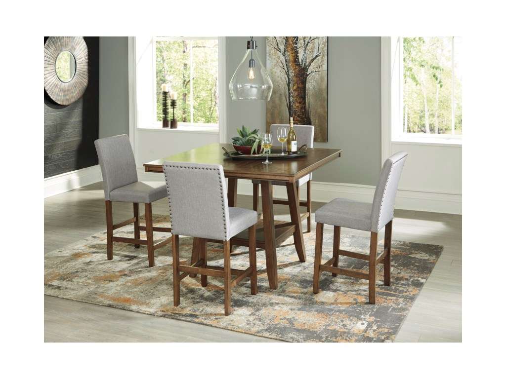 Benchcraft Glennox5-Piece Counter Height Table Set