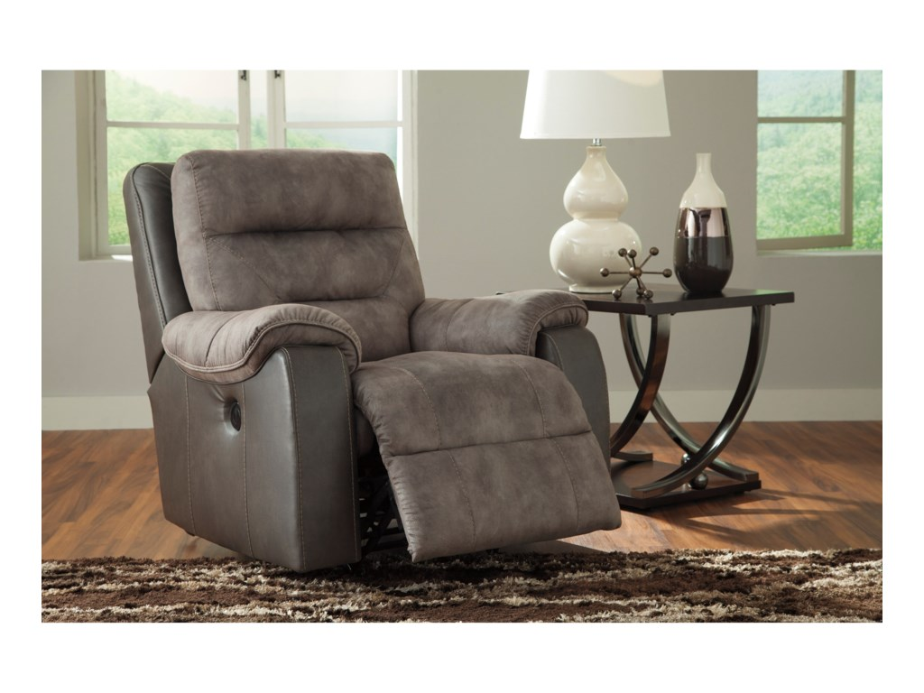 Benchcraft HacklesburyPower Rocker Recliner