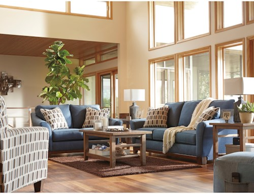 Benchcraft Janley Stationary Living Room Group