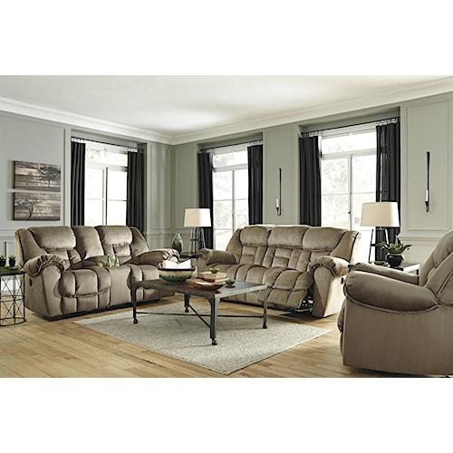 Benchcraft Jodoca Reclining Living Room Group