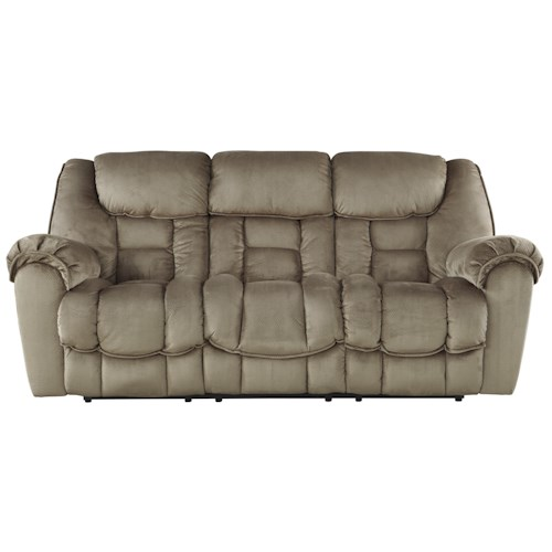 Benchcraft Jodoca Casual Contemporary Reclining Power Sofa
