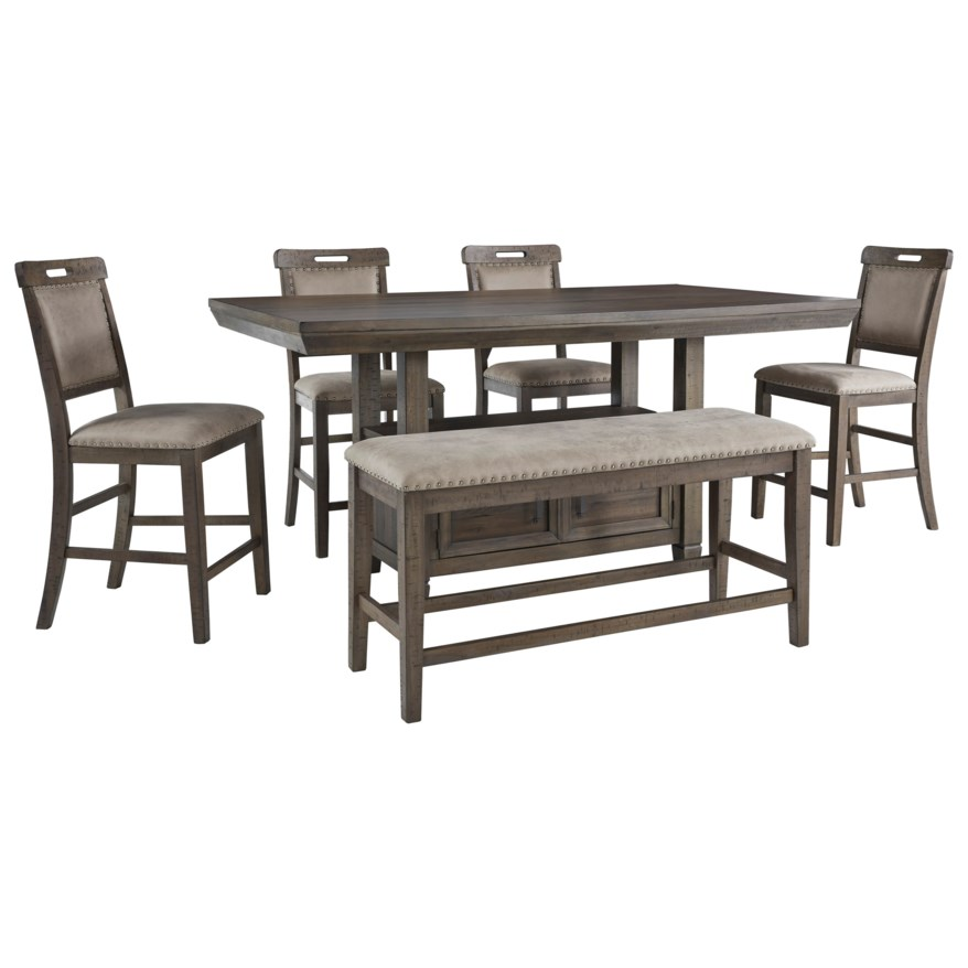 Counter Height Dining Room Sets With Bench