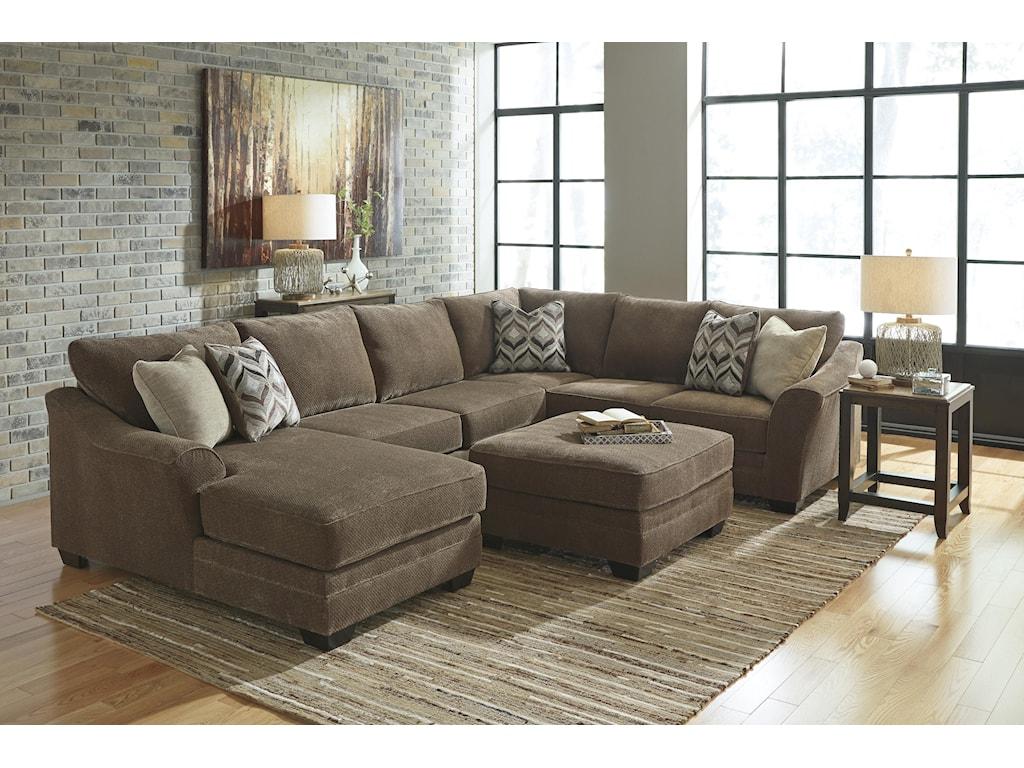 Benchcraft JustynaStationary Living Room Group