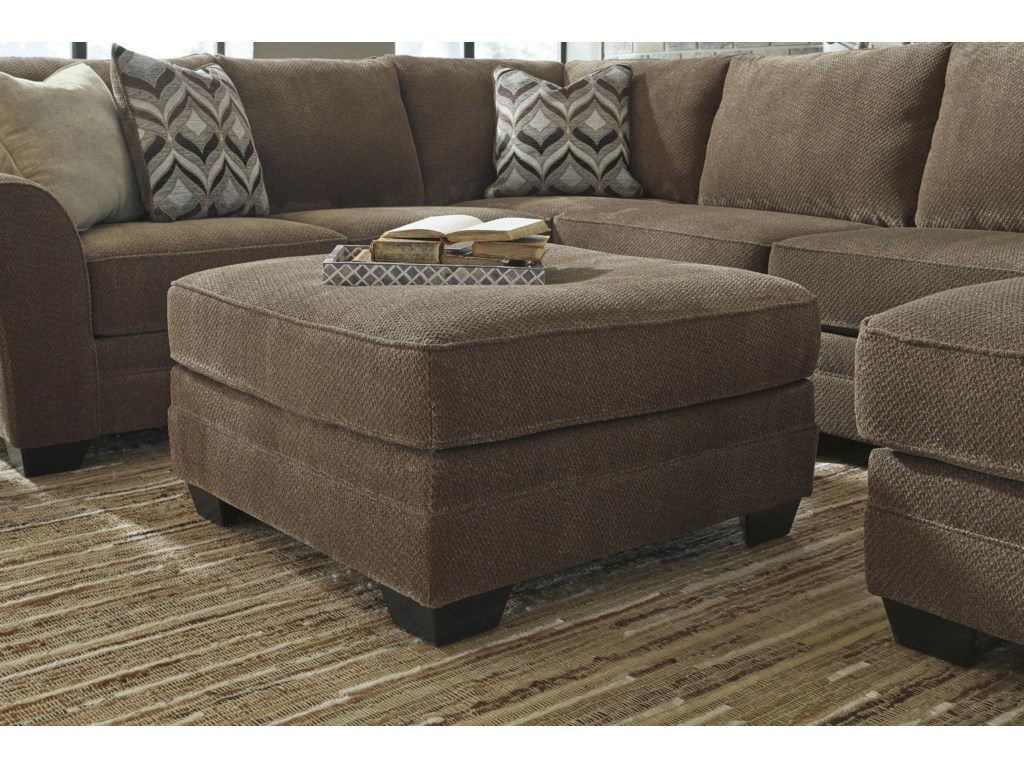 Benchcraft JustynaOversized Accent Ottoman