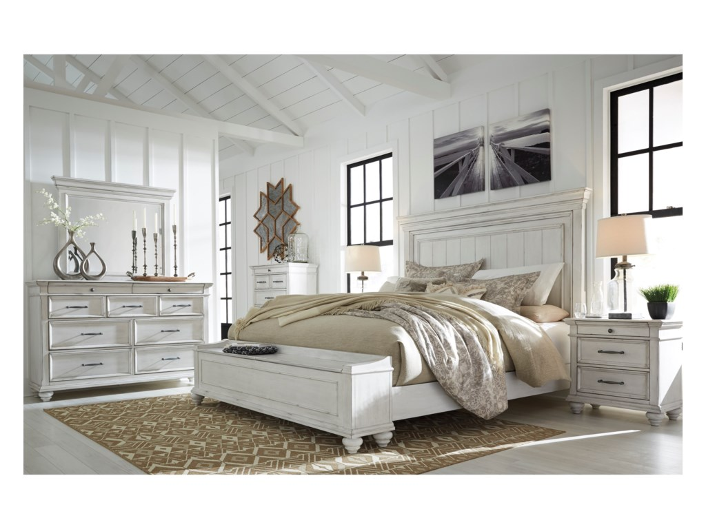 Signature Design By Ashley KanwynQueen Upholstered Bed