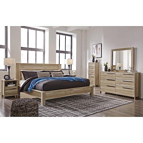 Benchcraft Kianni King Bedroom Group