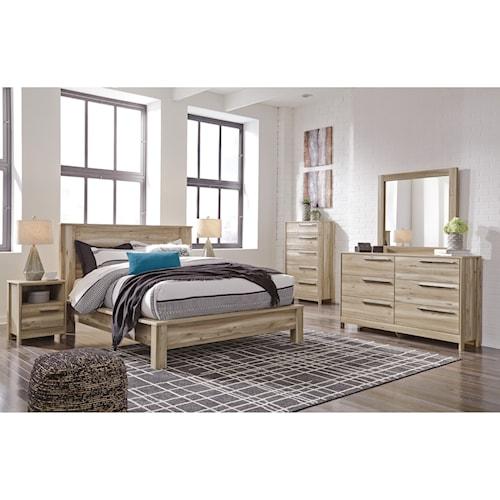 benchcraft kianni king bedroom group   wayside furniture   bedroom