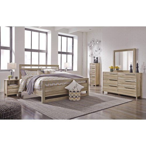 Benchcraft Kianni King Bedroom Group
