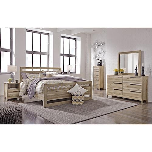Benchcraft Kianni Queen Bedroom Group