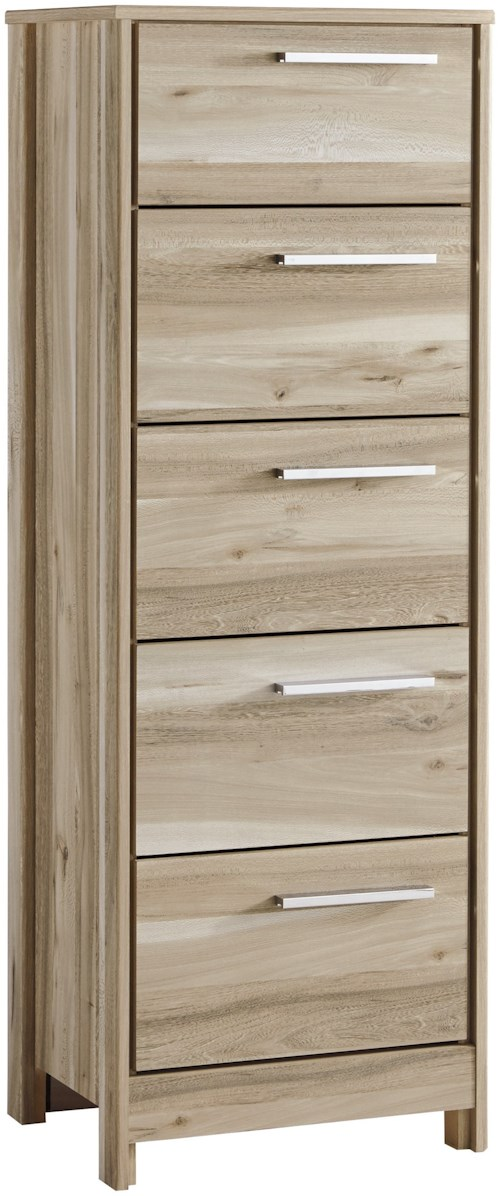 Benchcraft Kianni Contemporary Five Drawer Lingerie Chest