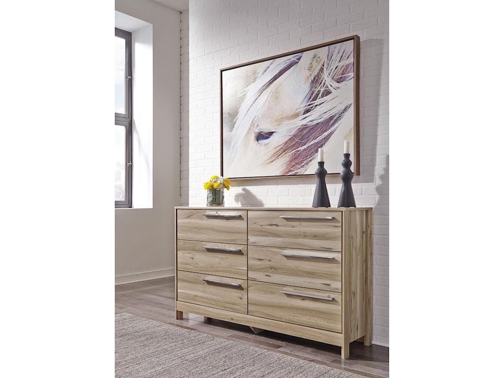 Benchcraft Kianni6-Drawer Dresser