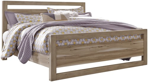 Benchcraft Kianni Contemporary Queen Panel Bed