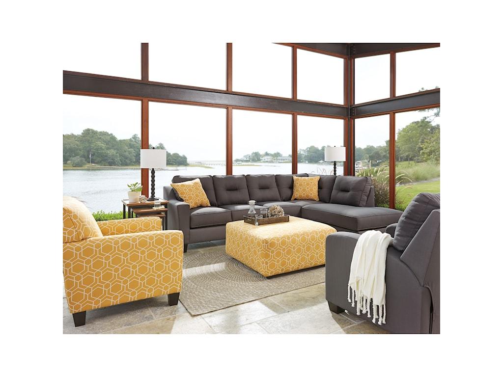 Benchcraft Kirwin NuvellaStationary Living Room Group