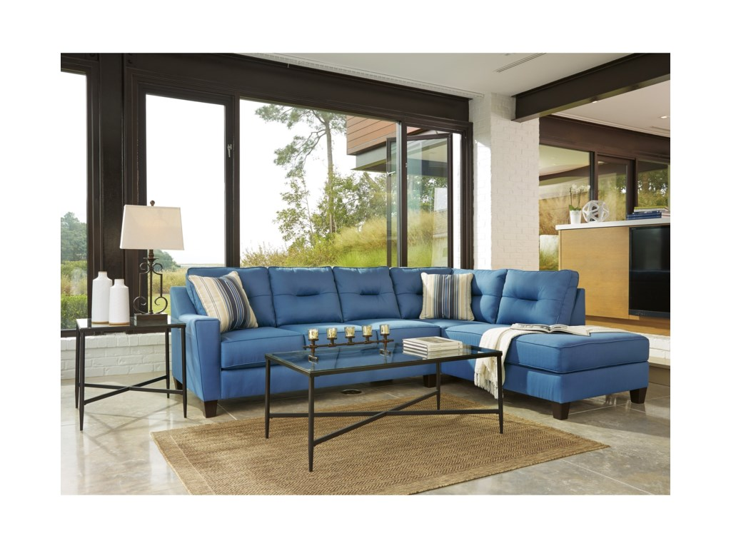 Benchcraft Kirwin NuvellaSectional with Chaise