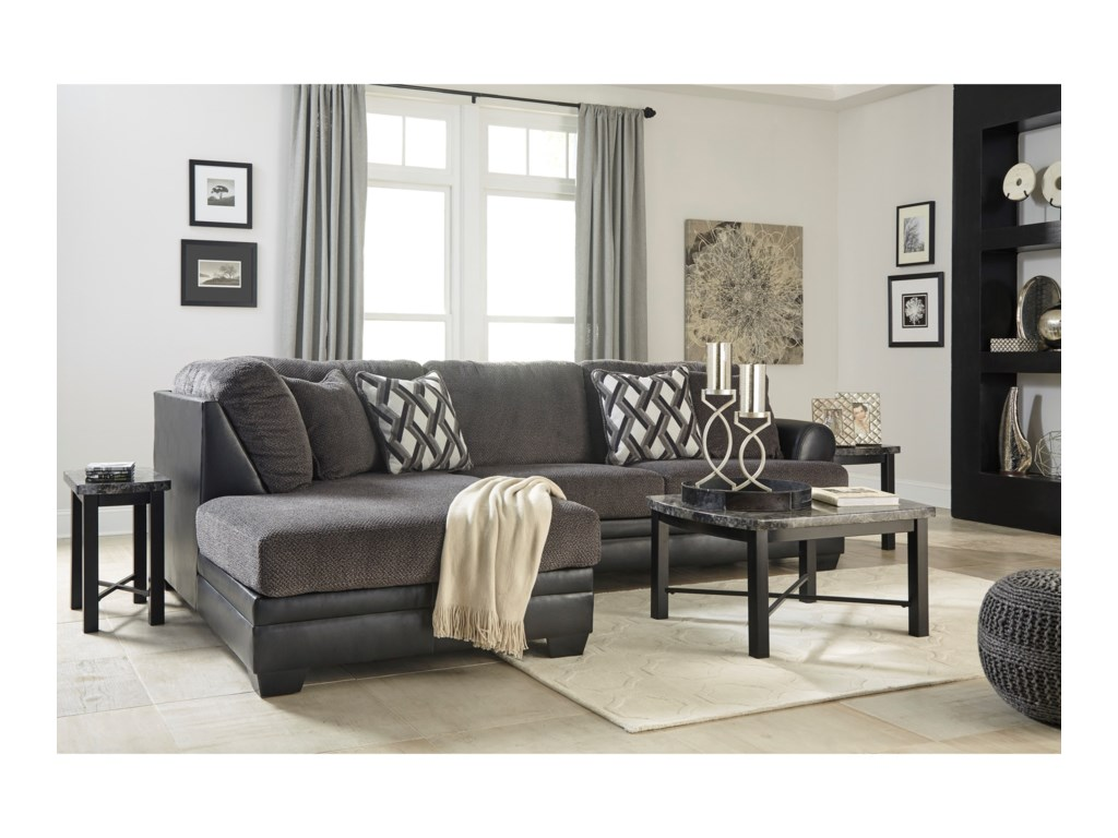 Benchcraft Kumasi2-Piece Sectional with Left Chaise