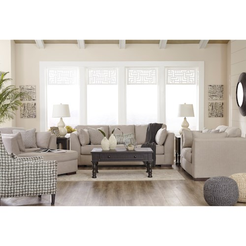 Benchcraft Lainier Stationary Living Room Group
