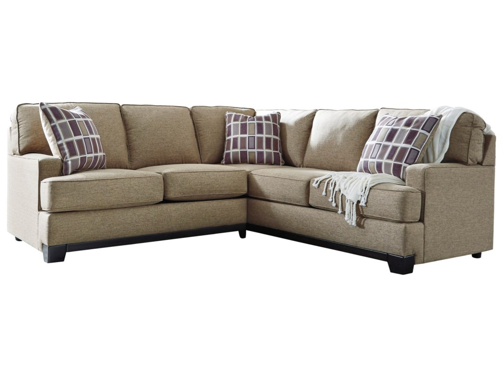 Benchcraft Larkhaven2-Piece Sectional with Left Loveseat