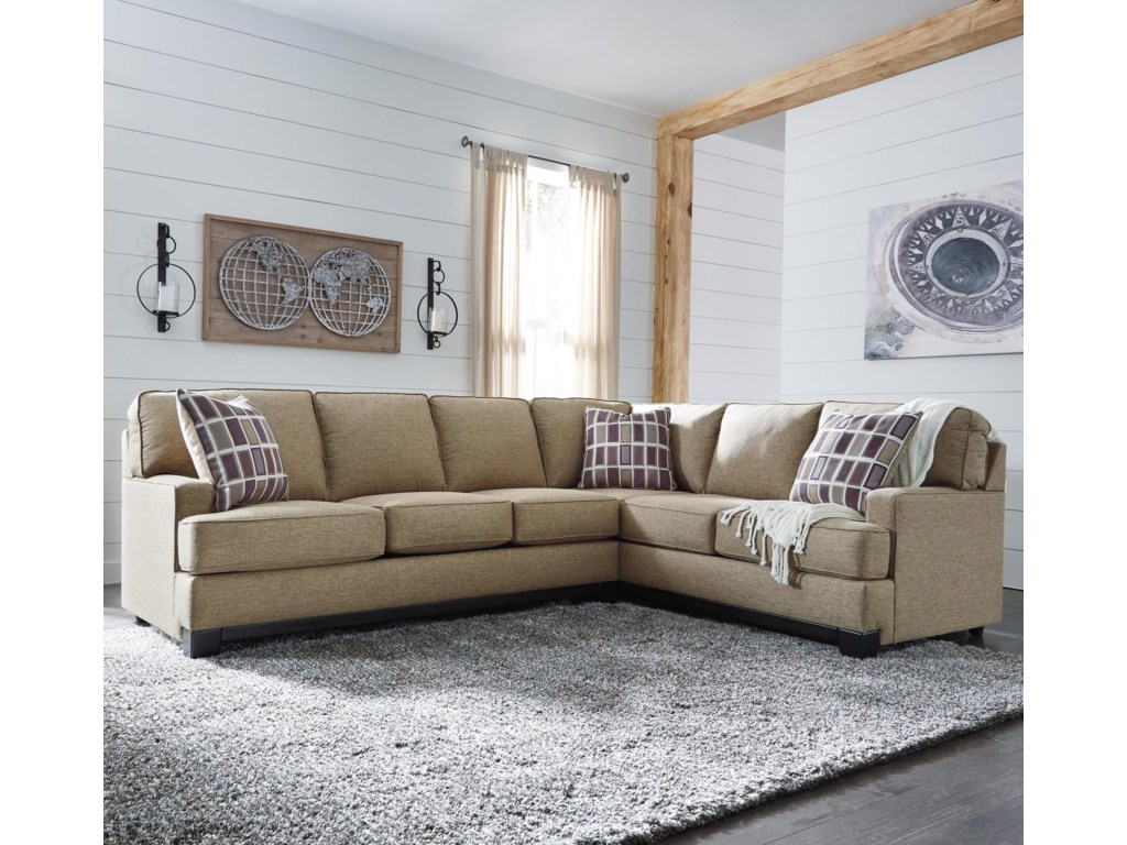 Benchcraft Larkhaven2-Piece Sectional with Left Sofa