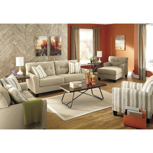 Benchcraft Laryn Stationary Living Room Group