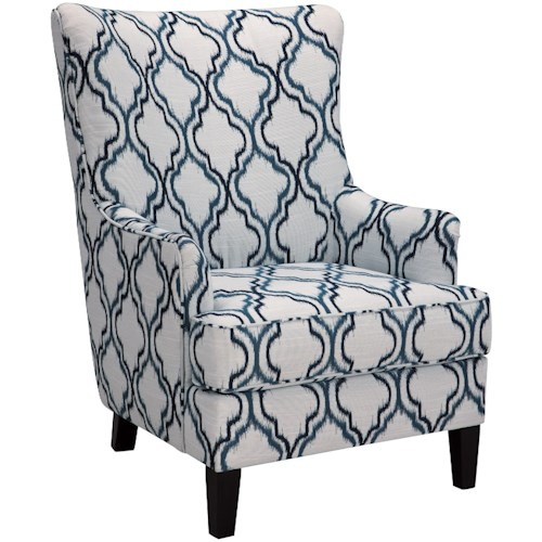Benchcraft LaVernia Transitional Wing Back Accent Chair