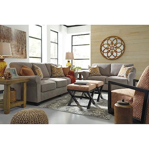 Benchcraft Leola Stationary Living Room Group