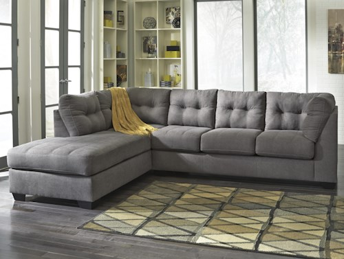 Benchcraft Mayberry 2-Piece Sectional with Left Chaise