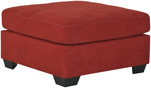 Benchcraft Maier - Sienna Contemporary Square Oversized Accent Ottoman