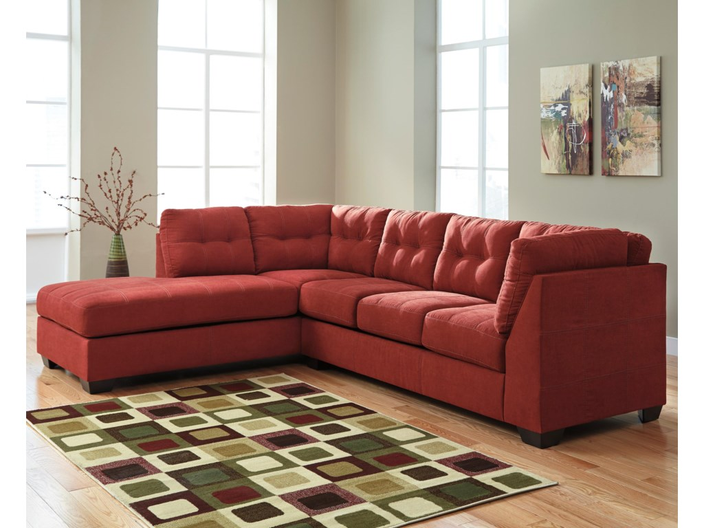 Trendz Malcolm - Sienna2-Piece Sectional with Left Chaise